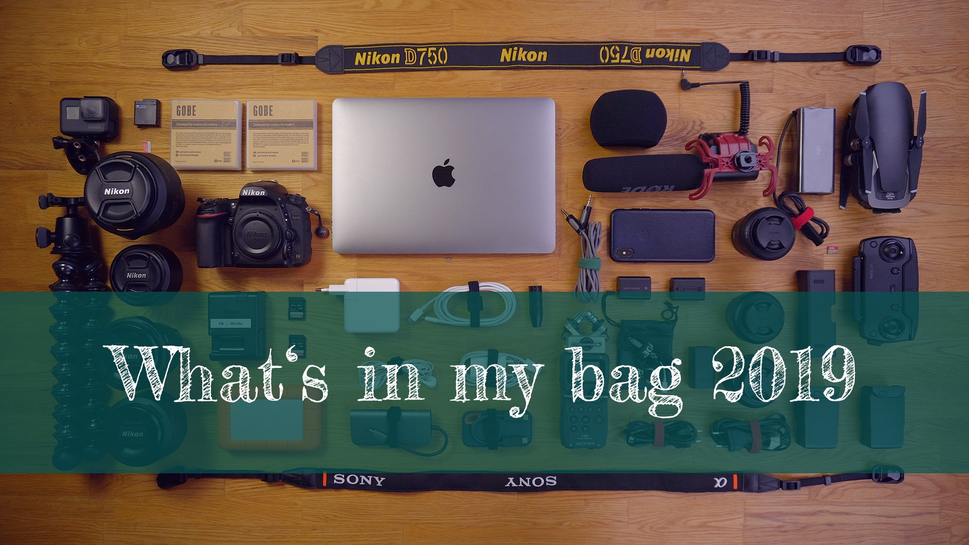 What's in my bag 2019